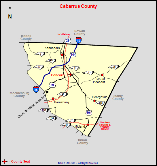 Cabarrus County, NC Property Tax Search by Address