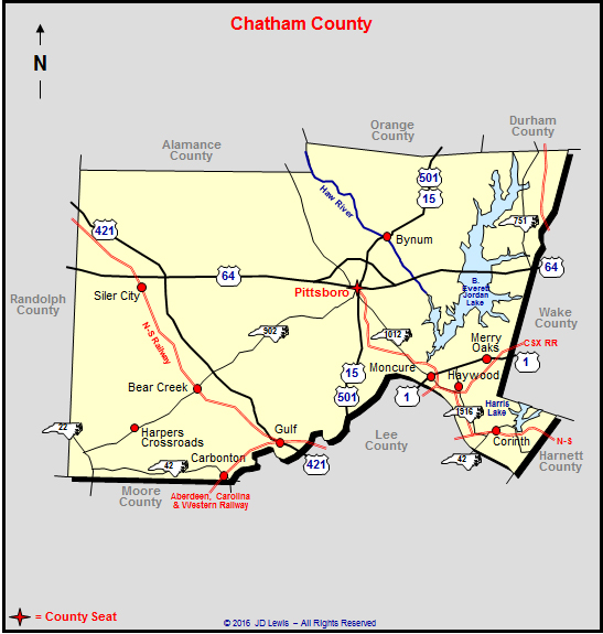 A History Of Chatham County