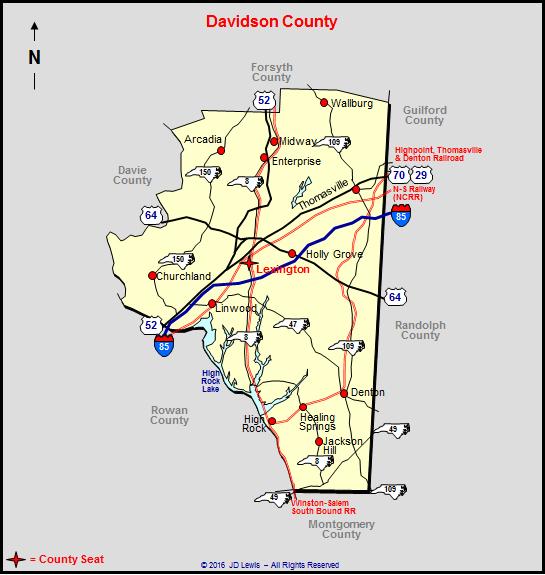 Davidson County North Carolina