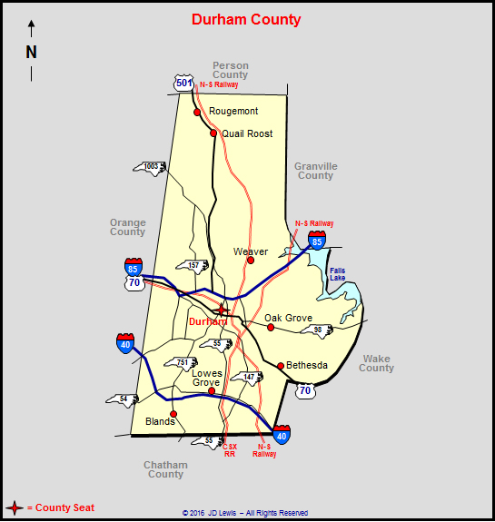 Durham County North Carolina