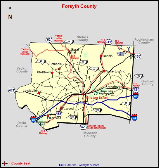 Forsyth County North Carolina