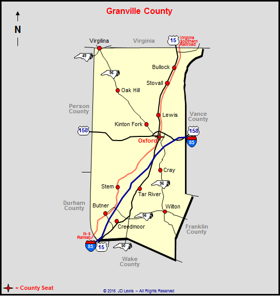 property tax records granville county nc