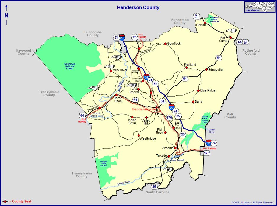 Henderson County North Carolina