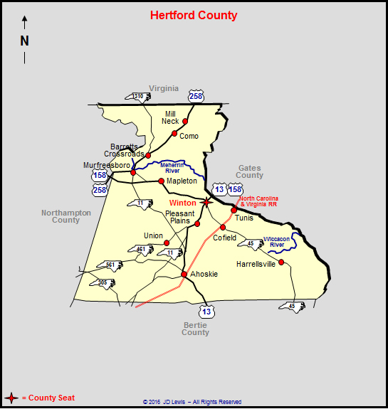 Hertford County North Carolina