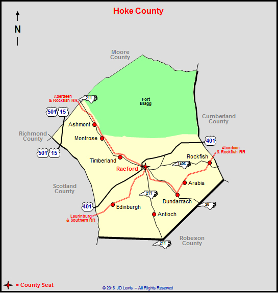 Hoke County, North Carolina