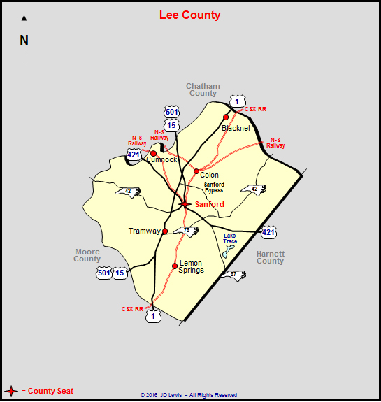 Lee County North Carolina