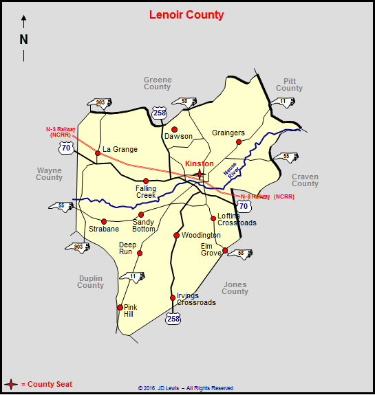 Lenoir County, North Carolina