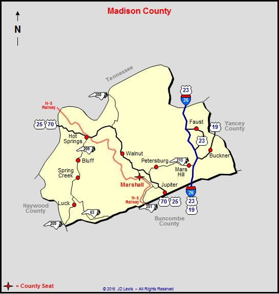 Madison County North Carolina