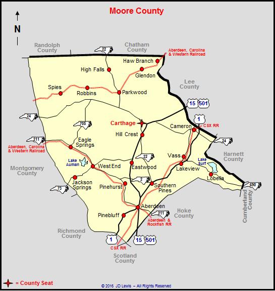 Moore County, North Carolina