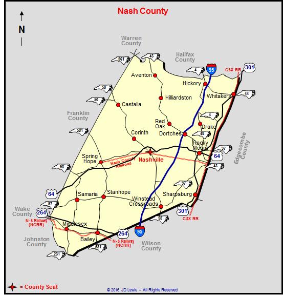 Nash County North Carolina