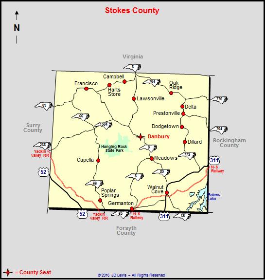 Stokes County North Carolina