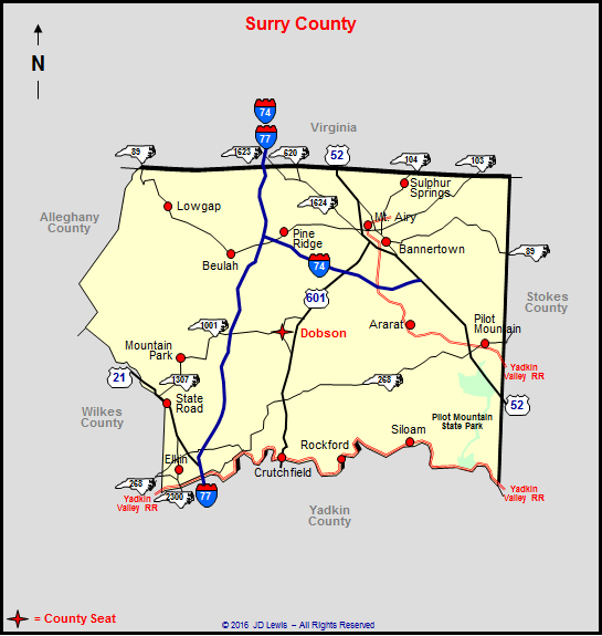 Surry County Tax Maps Surry County, North Carolina