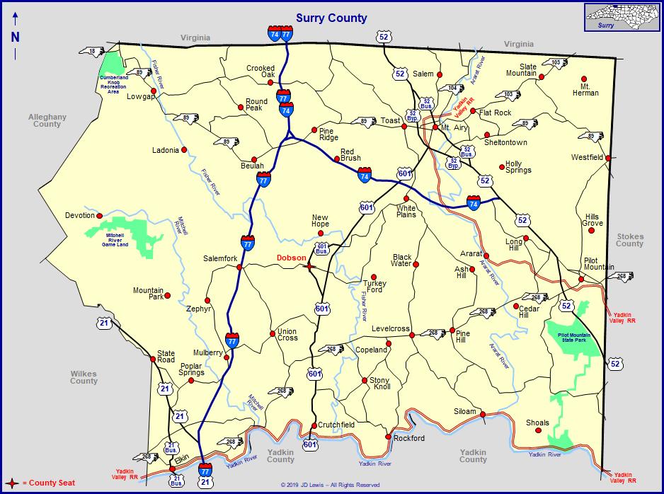 Surry County North Carolina