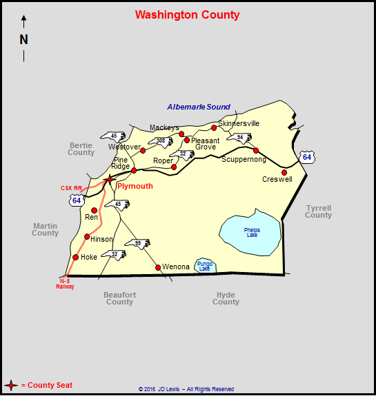 Washington County North Carolina