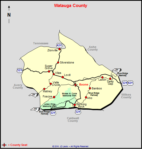 wautauga county property records north carolina