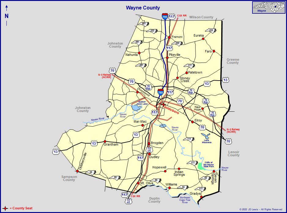 Wayne County North Carolina