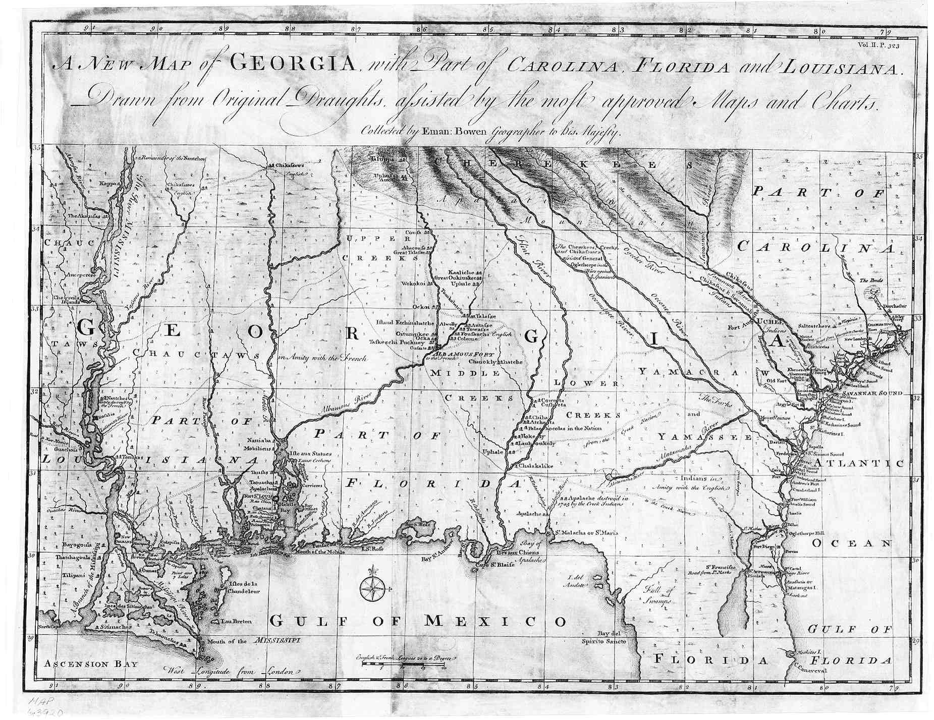 Map Of South Carolina And Georgia English - Maps of georgia