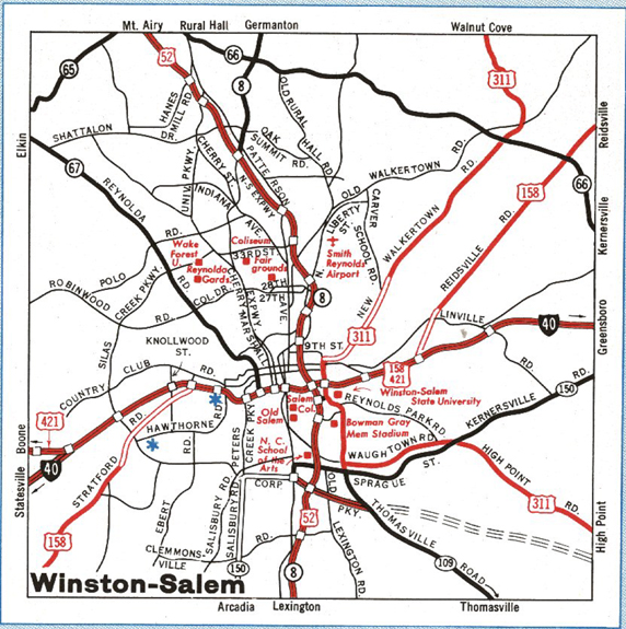 Maps of Winston-Salem, North Carolina Salem Road Map on berkshire county road map, village road map, keizer oregon road map, south kingstown road map, covington county road map, las marias road map, bombay road map, biloxi road map, rock hill road map, yorktown road map, loris road map, seaside road map, saint john road map, north shore road map, crystal lake road map, hamden road map, south milwaukee road map, edmond road map, pleasant hill road map, norman road map,