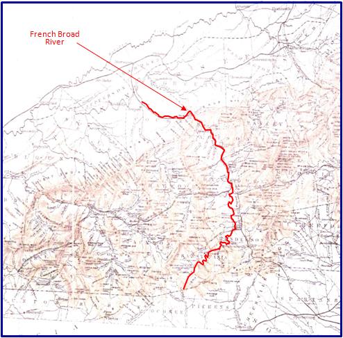 North Carolina Canals - French Broad River Navigation