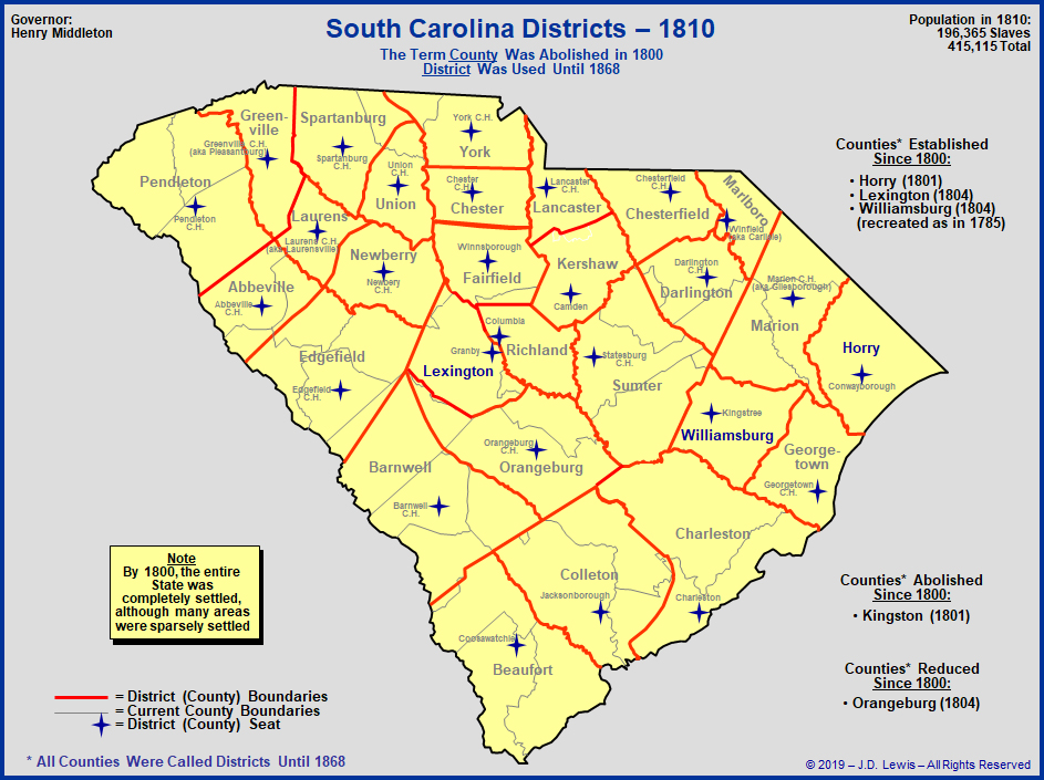 south carolina county map html with Sc 1800s Districts 1810 on Bethera as well Jonesville South Carolina moreover C Watauga County North Carolina as well Pier At Cherry Grove besides Lexington South Carolina.