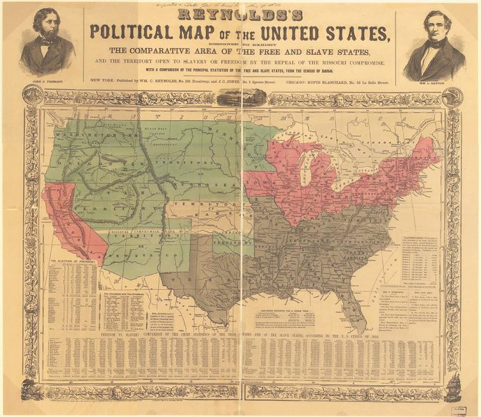 South Carolina - Antebellum Key Events - The Kansas-Nebraska Act