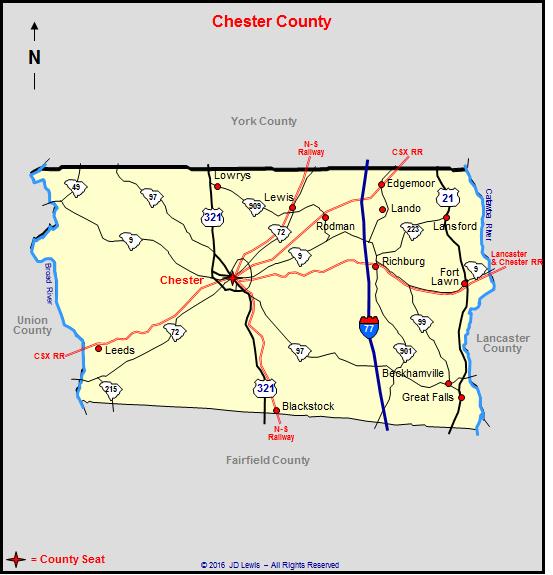 Chester County South Carolina