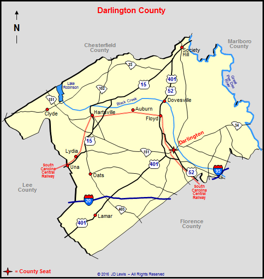 Darlington County South Carolina