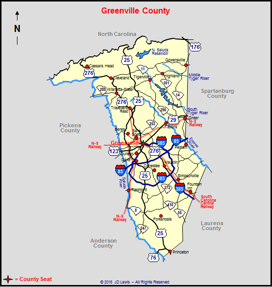 History Of Greenville County South Carolina Autos Post