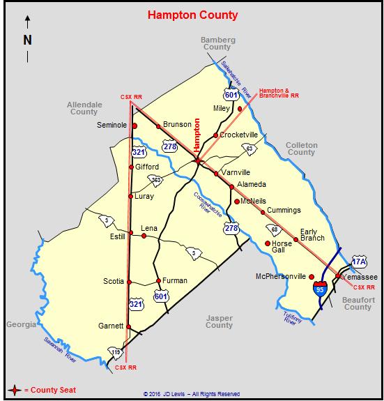 Hampton County, South Carolina