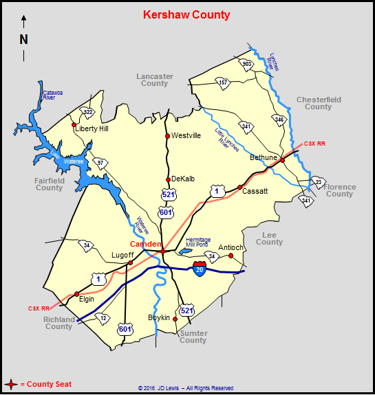 kershaw county Recent posts about kershaw county, south carolina on our local forum with over 2,000,000 registered users kershaw county is mentioned 162 times on our forum:.