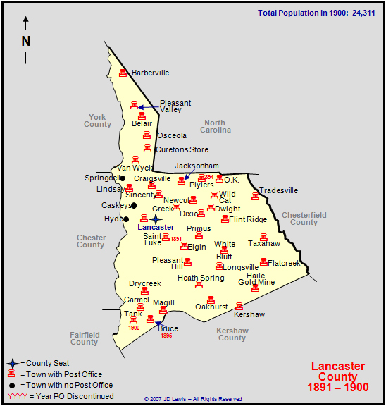 map of lancaster county sc with Lancaster 1891 To 1900 on Pennsylvania State in addition South carolina map in addition Frankappliancesrepair further Sc revolution engagements lancaster county also York County Tax Map.