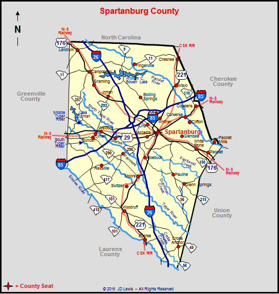 Bmw Greenville Sc >> Spartanburg County, South Carolina