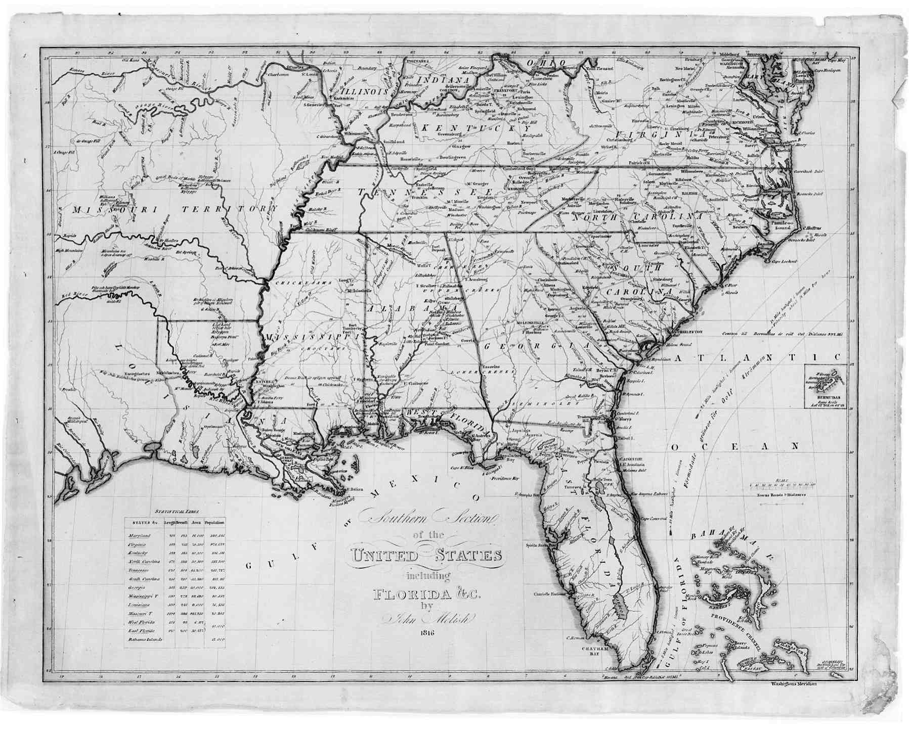 Map Of The Southeast American - River maps of southeast us
