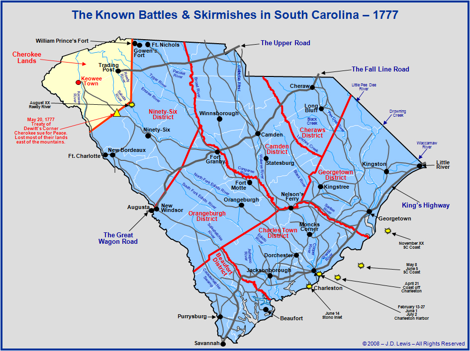 South Carolina in the American Revolution