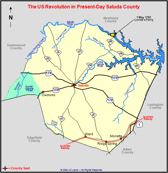 The American Revolution In South Carolina