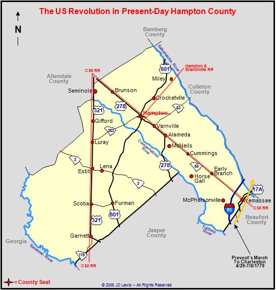 The American Revolution in South Carolina - Prevost's March
