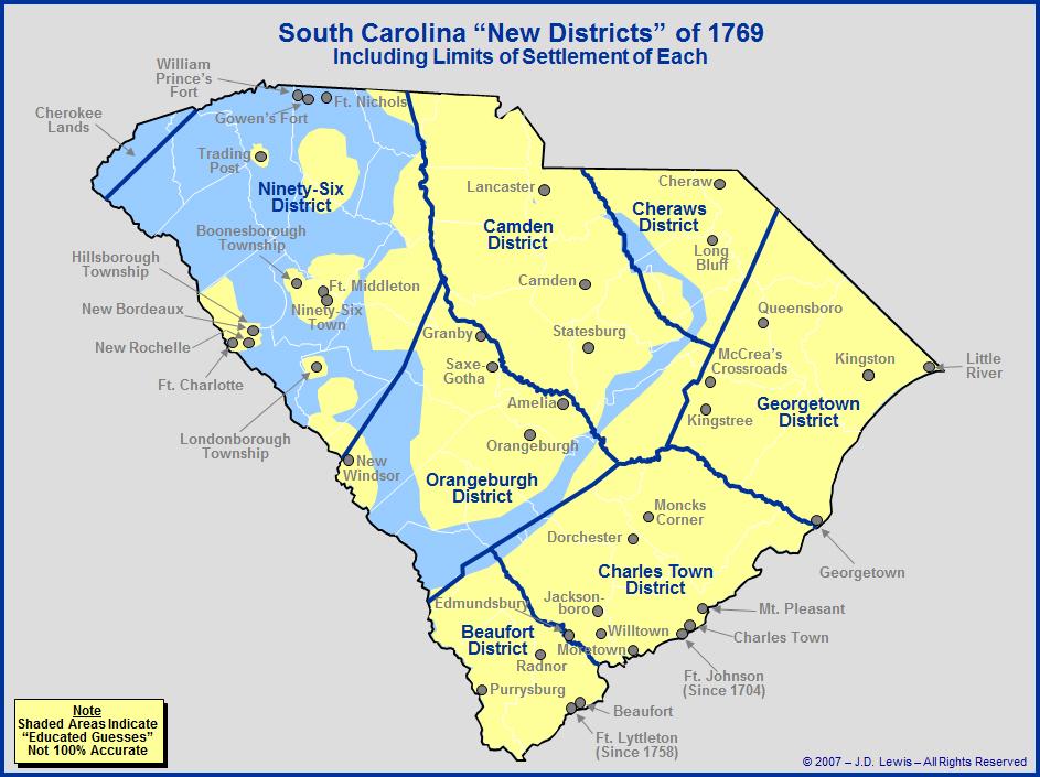The Royal Colony of South Carolina - The
