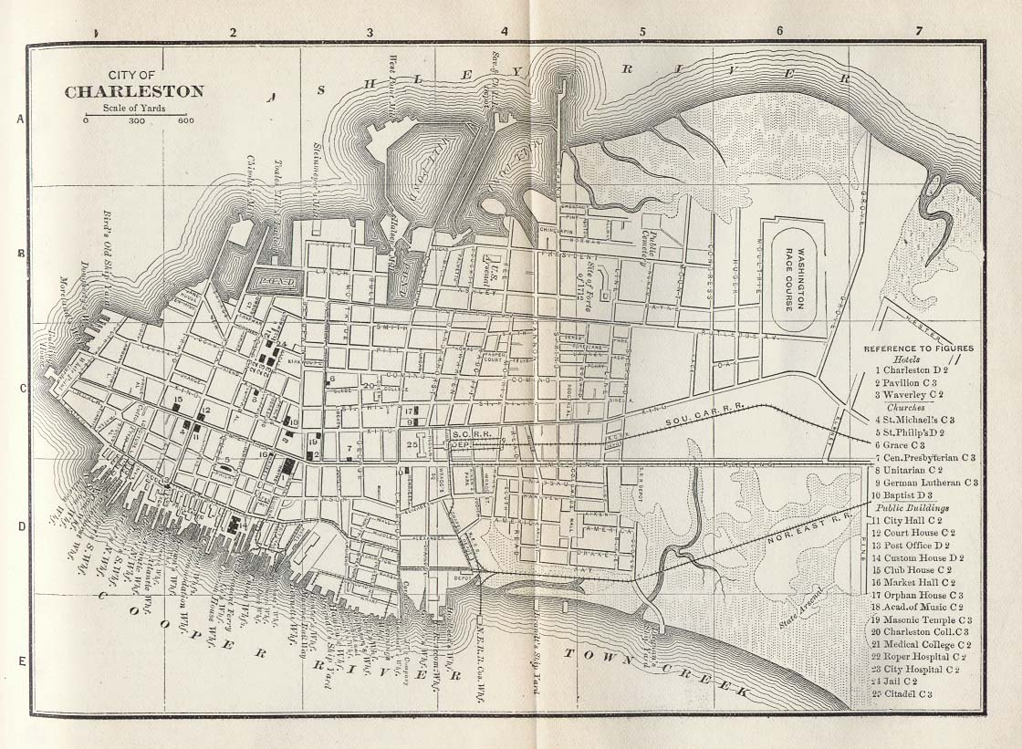 Map Myrtle Beach Rd St